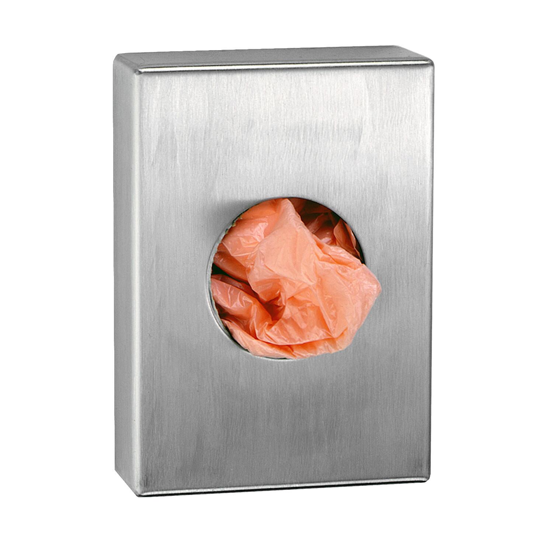 Glanz verchromt / Hygienebeutelspender Edelstahl (B-Ware)