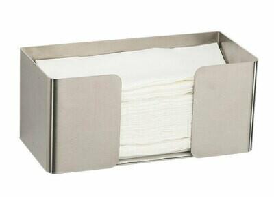 einfacher Handtuchspender, freistehend oder Wandmontage