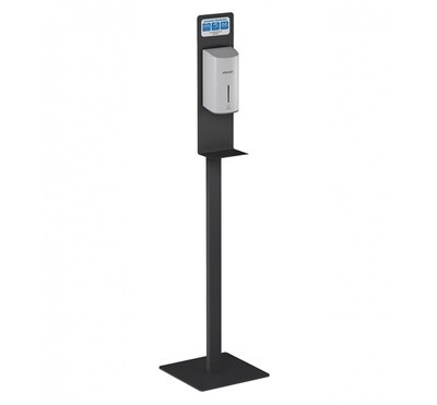 Desinfektionssäule mit automatischem Spray-Spender und Thermometer