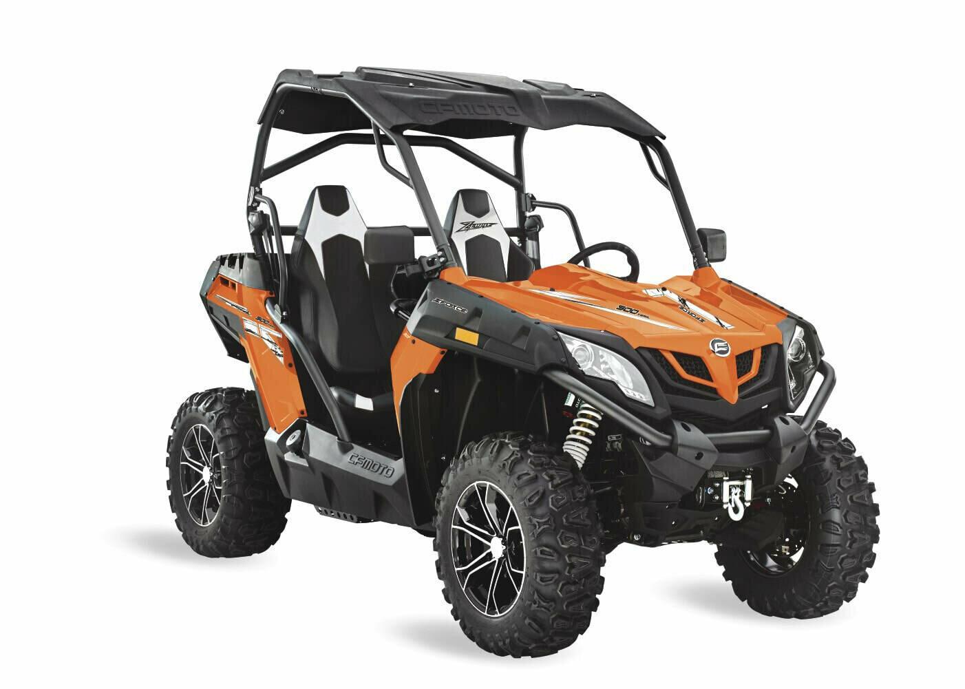 2019 CFMOTO ZFORCE 500 Trail EPS SSV 4x4 Orange