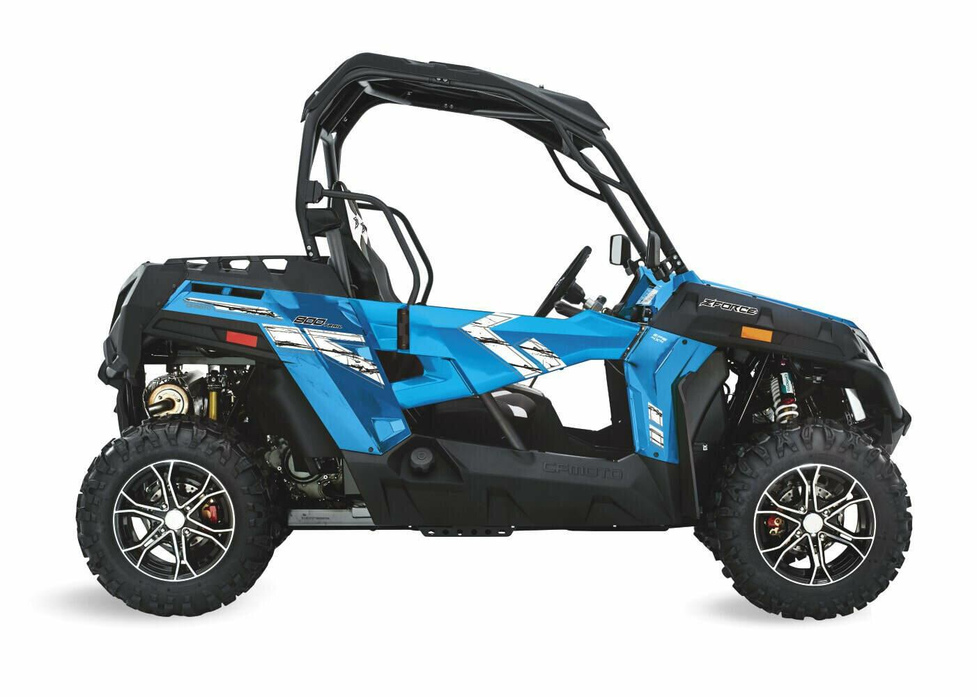 2019 CFMOTO ZFORCE 800 Trail EPS SSV 4x4 Blue
