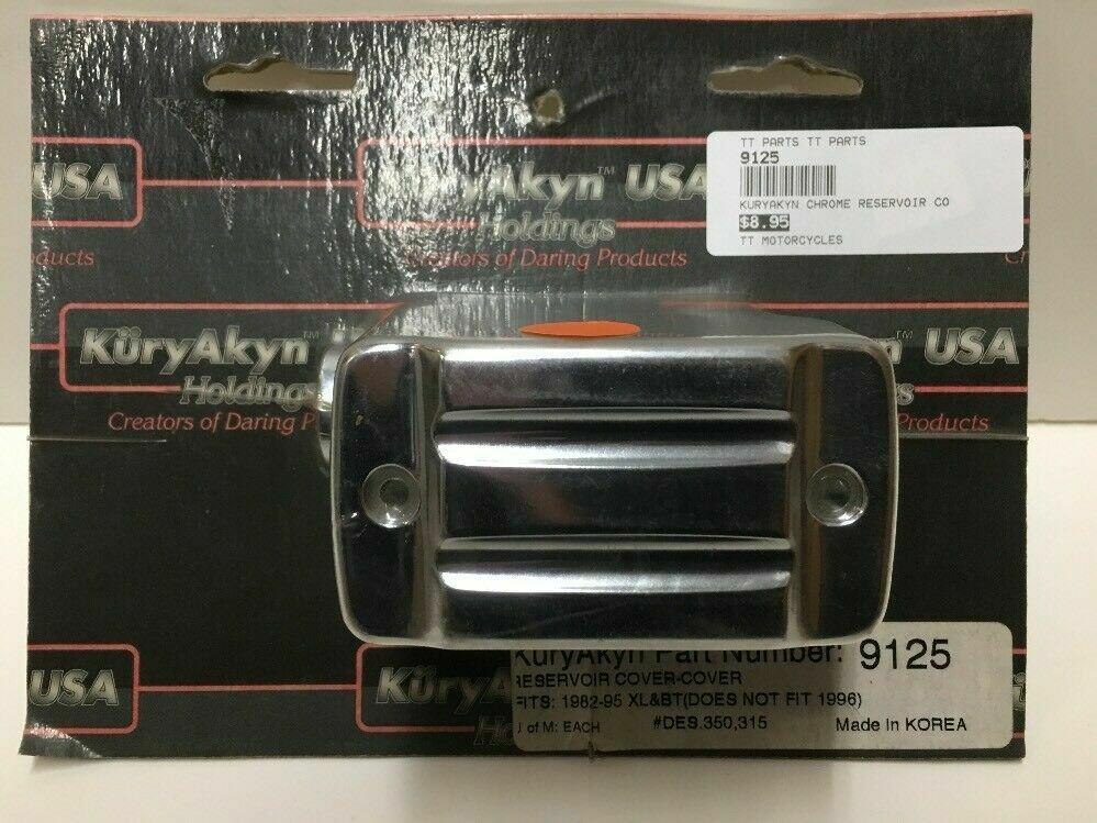 Kuryakyn Chrome Reservoir Cover, 82-95 Harley XL, BT (9125)