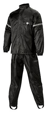 Nelson-Rigg Black WP-8000 WeatherPro 2-Piece Rain Suit Medium (2851-0147)