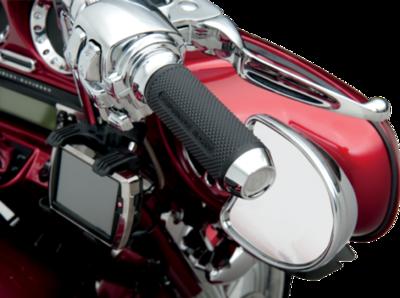Performance Machine Chrome Elite Custom TBW Grips (00635-2028CH, 0630-0954)