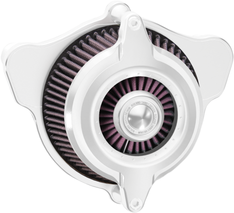 Roland Sands Design Chrome Blunt Power Air Cleaner Kit (1010-1439)