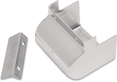 Drag Specialties Chrome Coil Cover, 83-98 FL, 83-03 XL (2102-0065)