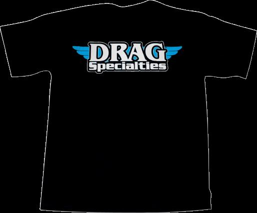 Drag Specialties Logo T-Shirt Black 2XLarge (3030-3335)
