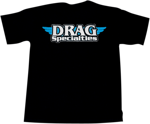 Drag Specialties Logo T-Shirt Black XLarge (3030-3334)