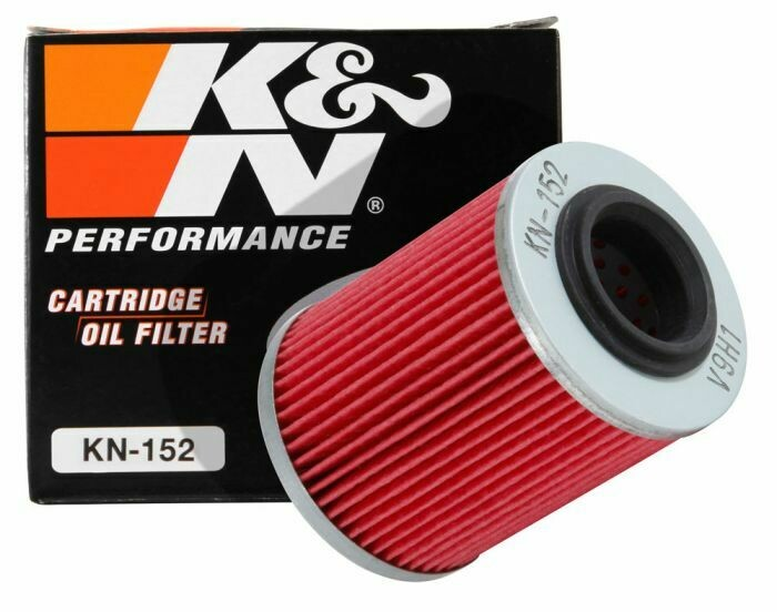 K&N Cartridge Oil Filter, CFMOTO, Can-Am, Ski-Doo, Aprilia (KN-152)