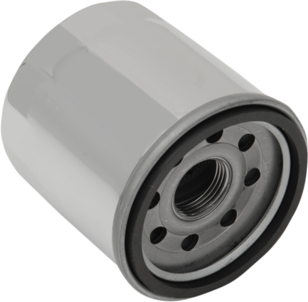 Drag Specialties Oil Filter Chrome, Indian (0712-0480)