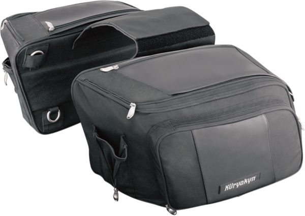 Kuryakyn Gran Throwover Saddlebags (4171, 3501-0303)