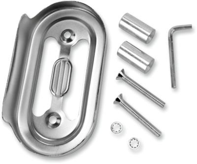 Drag Specialties Chrome Regulator Cover, 91-03 FXD (7805-0013)