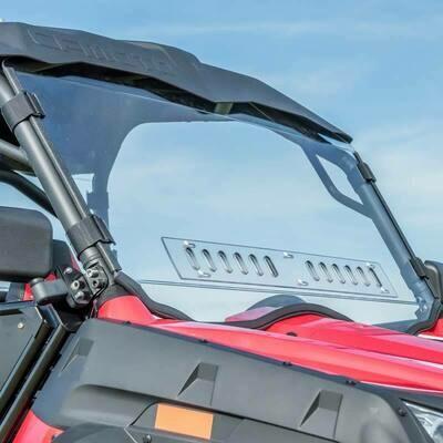 3 Star One-Piece Front Lexan Windshield w/Adjustable Vents - CFMOTO ZFORCE 500 | 800 | 800EX | 1000 (CFMMZ8-SB1)