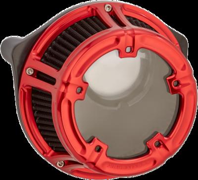 Arlen Ness Method Air Cleaner Red, 91-Up XL Sportster (18-173, 1010-2533)