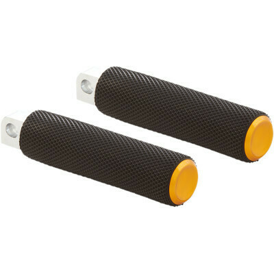 Arlen Ness Knurled Foot Pegs Gold (07-939, 1620-1966)