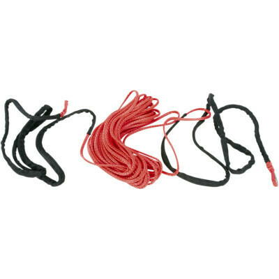 """Moose Synthetic Winch Rope 3/16"""" x 50' Red (4505-0612)"""