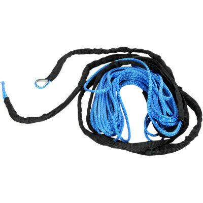 """Moose Synthetic Winch Rope 3/16"""" x 50' Blue (4505-0611)"""
