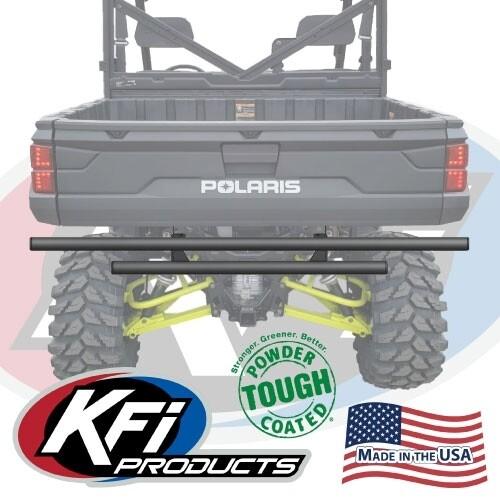 KFI Rear Bumper Ranger Full Size XP1000, Black (101525, 10-1525)