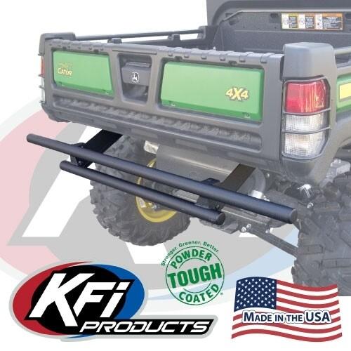 KFI Rear Bumper John Deere Gator 835/865, Black (101665, 10-1665)