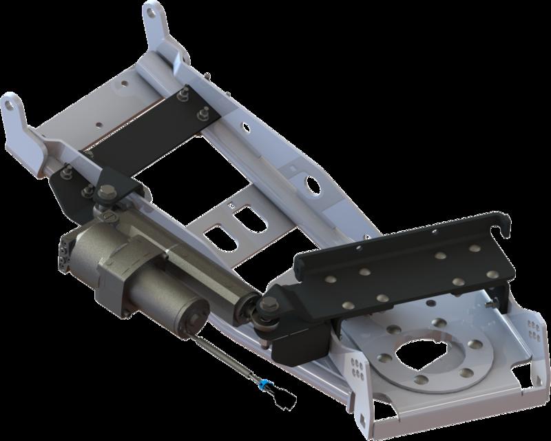 KFI UTV Snow Plow Hydraulic Blade Angle Actuator Kit (105935, 10-5935)