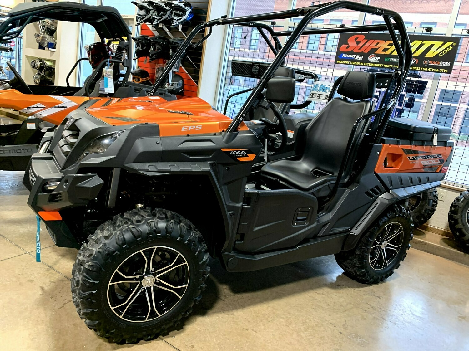 2019 CFMOTO UFORCE 800 EPS UTV 4x4 Orange