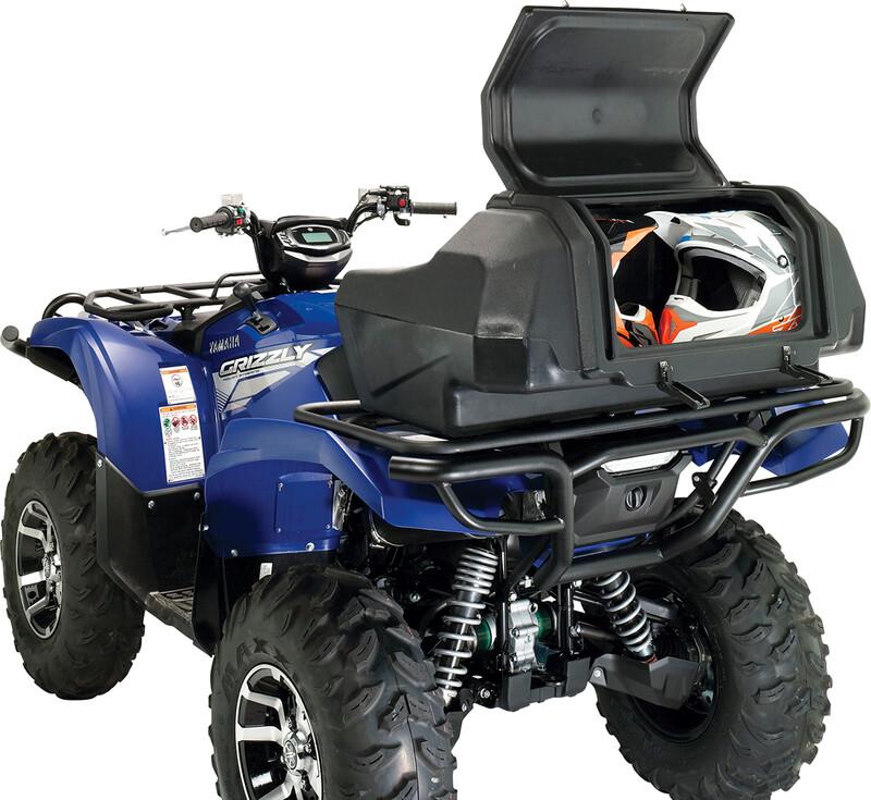 Moose ATV Rear Seat w/Helmet Storage, CFMOTO, Universal Trunk Box (3505-0206)