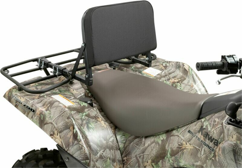 Moose ATV Back Rest Rack Folding, Waterproof (3550-0086)