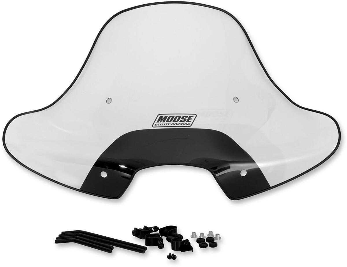 Moose ATV Windshield, w/Headlight Cutout (2317-0193)