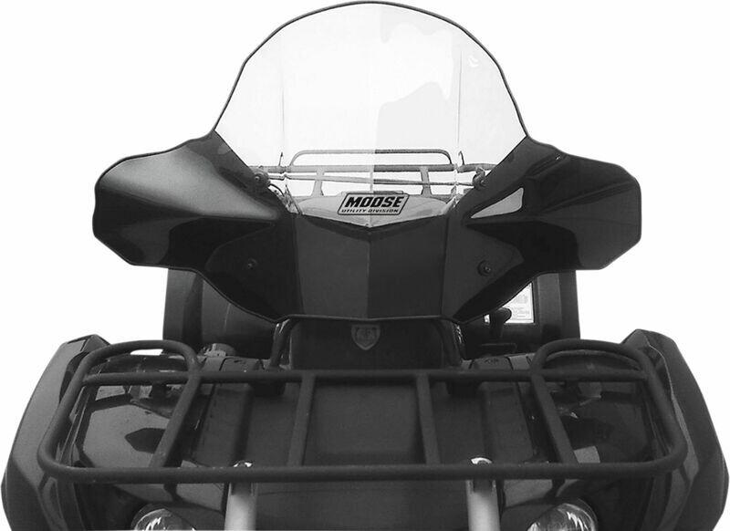Moose ATV Windshield, No Headlight Cutout (2317-0194)