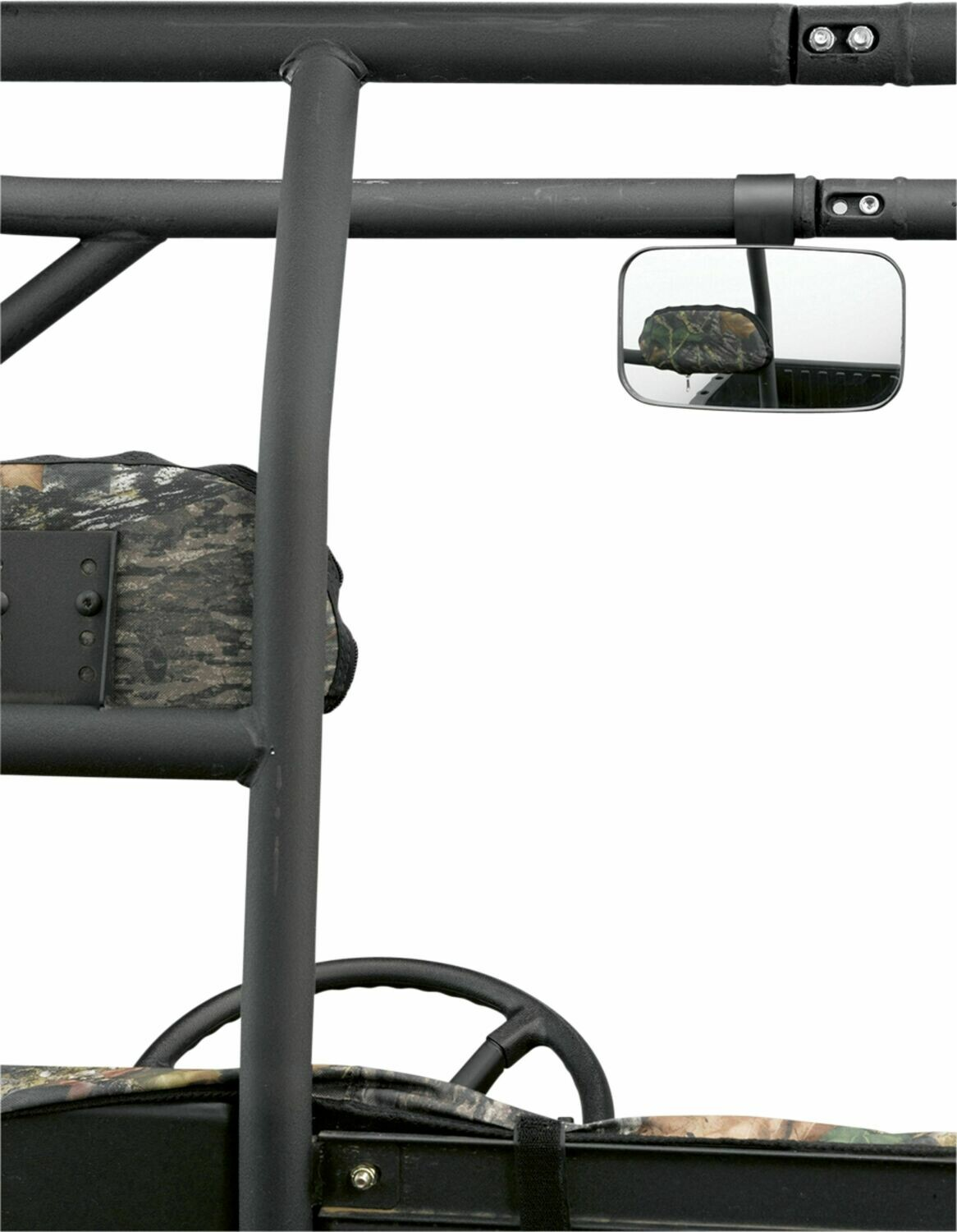 "Moose UTV Rear/Side View Mirror, 1.75"" Clamp (0640-0386)"