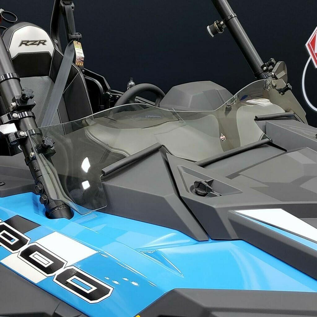 Polaris RZR XP 19-20 Klock Werks R-Spec Flare Tinted Windshield (KW05-01-0532-T, 2317-0421)