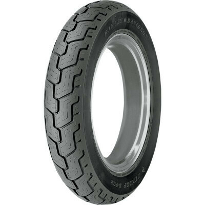 Dunlop D402 MT90-16 74H Rear Tire, Harley Blackwall (45006018, 3017-91)
