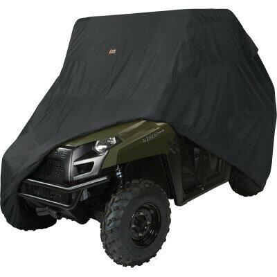 Classic QuadGear UTV Large Storage Cover, Black (18-070-040401-0, 4002-0089)