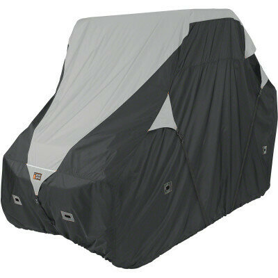 Classic QuadGear UTV XLarge Storage Travel Cover, Black/Grey (18-065-053801-0, 4002-0087)