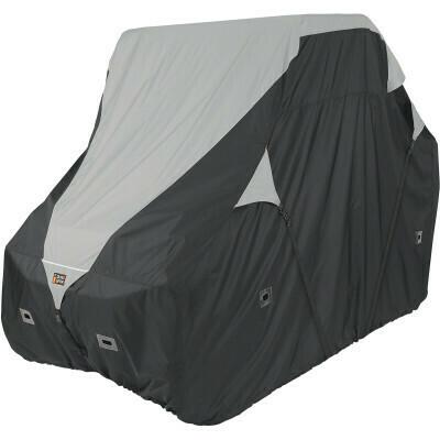 Classic QuadGear UTV XLarge Storage Cover, Black/Grey (18-065-053801-0, 4002-0087)