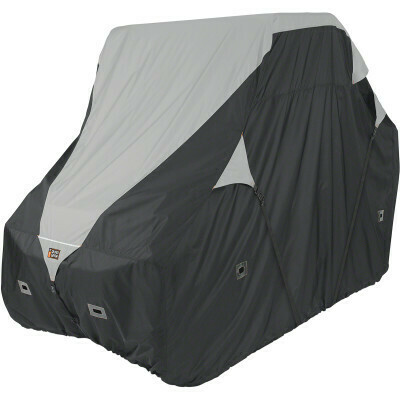 Classic QuadGear UTV 2XLarge Storage Travel Cover, Black/Grey (18-066-063801-0, 4002-0088)