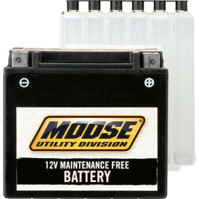 Moose ATV/UTV AGM Battery, CFMOTO/Arctic Cat/Polaris (YIX30L-BS, 2113-0244)