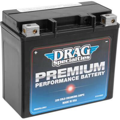 Drag Specialties Premium Battery, 86-96 XL Harley (GYZ20H, 2113-0323)