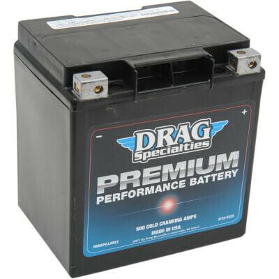 Drag Specialties Premium Battery, FL Bagger Harley (GYZ32HL, 2113-0322)