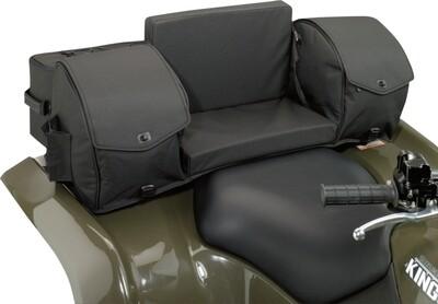 Moose ATV Ridgetop Rear Seat Universal Soft Bag, Black (3505-0214)