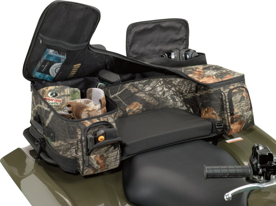 Moose ATV Ozark Rear Seat Universal Soft Bag, Mossy Oak Camo (3505-0213)
