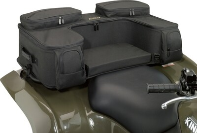 Moose ATV Ozark Rear Seat Universal Soft Bag, Black (3505-0212)