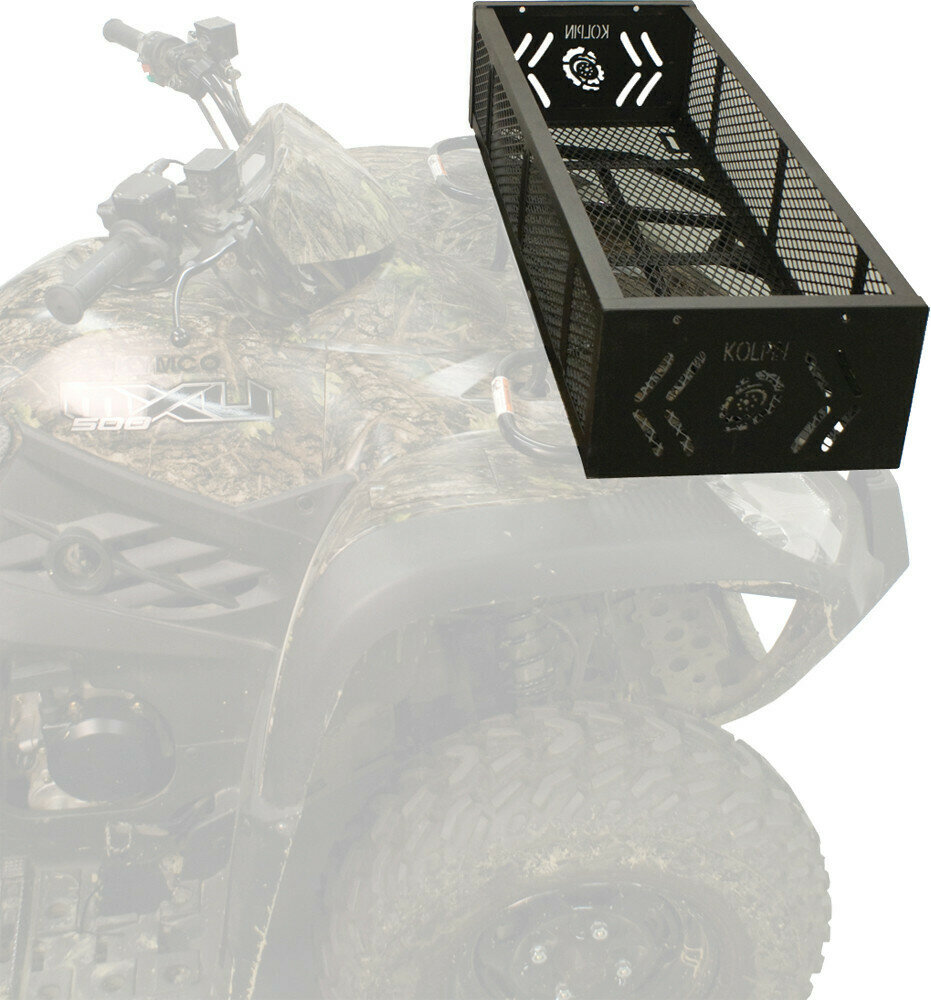 Kolpin ATV Front/Rear Gear Basket Rack (53360, 23-2008)
