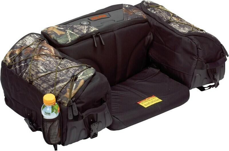 Kolpin ATV Matrix Rear Seat Universal Soft Bag, Mossy Oak Camo (91150, 61-1914)