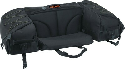 Kolpin ATV Matrix Rear Seat Universal Soft Bag, Black (91155, 61-1915)