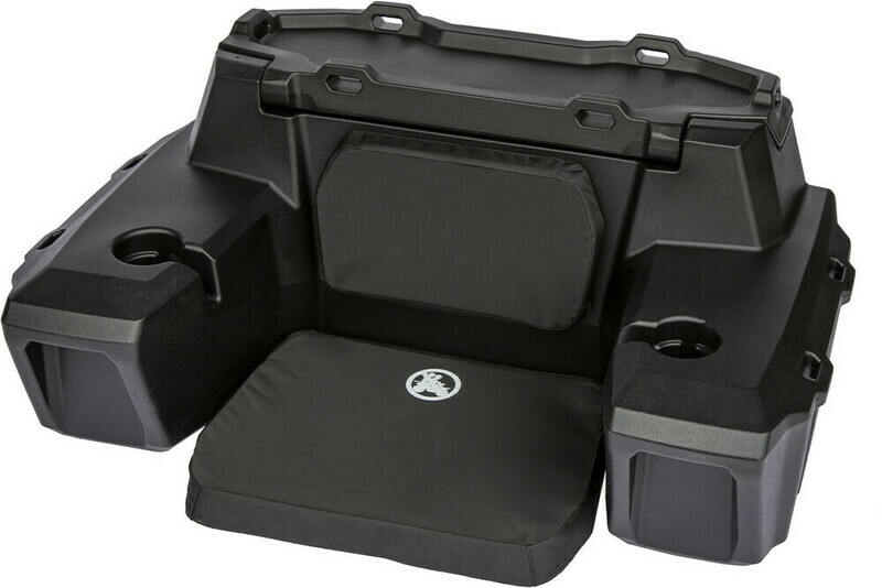 Kolpin ATV Rear Seat Lounger w/Cupholder, CFMOTO, Universal Trunk Box (4457, 61-3021)