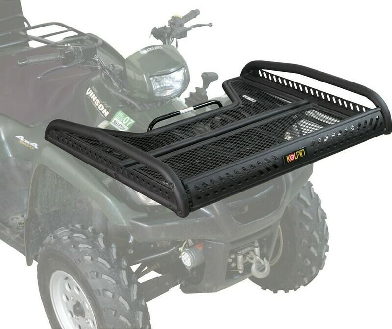Kolpin ATV Front/Rear Flat Basket Rack (53400, 23-2005)