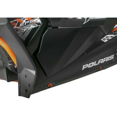 Moose Polaris RZR Lower Door Inserts XP 1000/Turbo, Black (0521-1784)