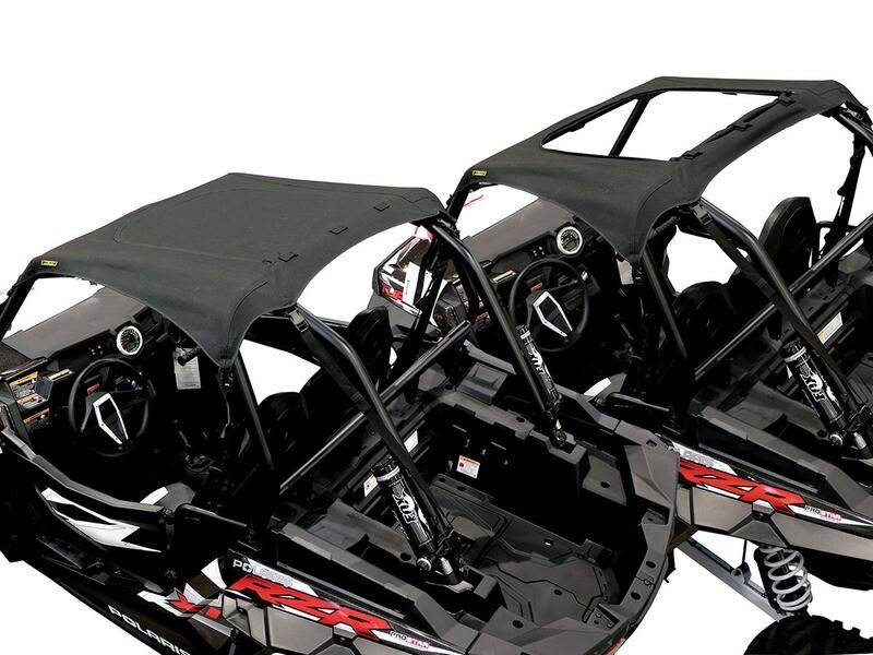 Nelson-Rigg Polaris RZR 2-Door Soft Top w/Sunroof, Black (RG-100-RZR2, 0521-1489)