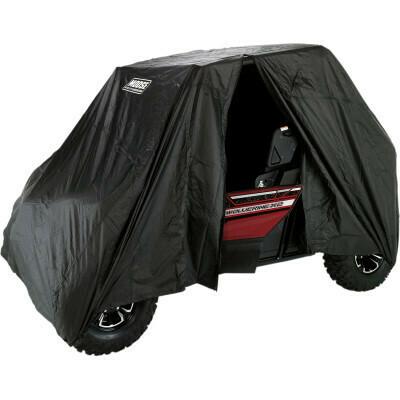 Moose UTV Cover 2-Seater Zipper Entry, Black (4002-0103)